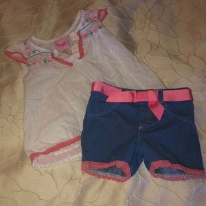 Adorable Short and top set